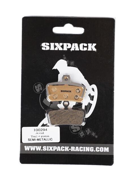 Sixpack Avid Trail 4 Piston/Guide Brake Pads beige